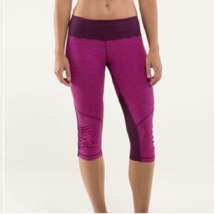 Lululemon Run: For Your Life Crops